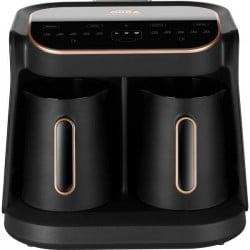 arzum Okka Grandio Duo Caffettiera elettrica Nero, Bronzo Capacità tazze 10 Display