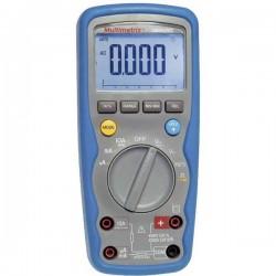 Multimetrix DMM 210 Multimetro portatile digitale Impermeabile (IP67) CAT III 1000 V, CAT IV 600 V Display (Counts):