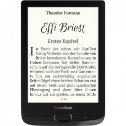 PocketBook Basic Lux 2 Lettore di eBook 15.2 cm (6.0 pollici) Nero, Argento