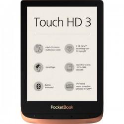 PocketBook Touch HD 3 Lettore di eBook 15.2 cm (6 pollici) Rame, Nero