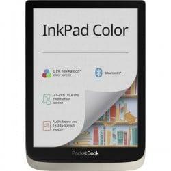 PocketBook InkPad Lettore di eBook 19.8 cm (7.8 pollici) Argento