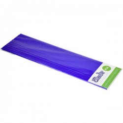 3Doodler PL02-ROYL Royal Blue KIT Filamenti stampante 3D Plastica PLA 1.75 mm 63 g Blu 24 pz.