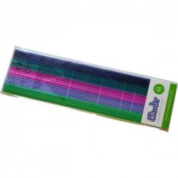 3Doodler PL-MIX11 Clearly Springtime KIT Filamenti stampante 3D Plastica PLA 1.75 mm 63 g Verde, Blu, Rosa, Verde scuro,
