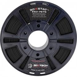 3D Xtech PTG2031000BK0 3DXSTAT Conductive ESD Filamento per stampante 3D PETG 2.85 mm 1000 g Nero 1 pz.