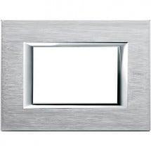 Placca Axolute Bticino Anodizzati in Metallo, Cromata 3 Posti, codice HA4803CR, prezzi e offerte.