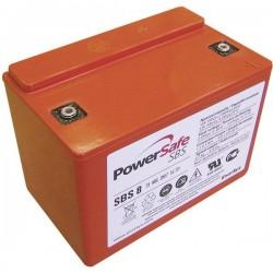 EnerSys Hawker Longlife PowerSafe SBS8 Batteria al piombo 6 V 7 Ah Piombo-AGM (L x A x P) 138 x 99 x 86 mm Vite M4