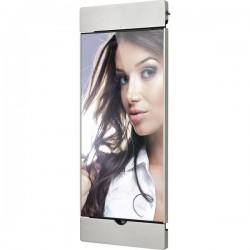 Smart Things Air s20 s Supporto da parete per iPad Argento Adatto per modelli Apple: iPad 9.7 (marzo 2017), iPad 9.7
