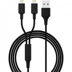 Smrter Cavo di ricarica USB USB 2.0 Spina USB-A, Connettore Apple Lightning 1.20 m Nero