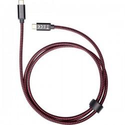 Smrter Cavo USB USB 2.0 Spina USB-C™, Spina USB-C™ 1.20 m Nero, Rosso