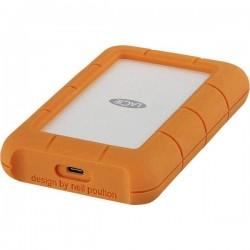 LaCie Rugged Secure 2 TB Hard Disk esterno da 2,5 USB-C™ Argento, Arancione STFR2000403