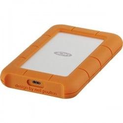 LaCie Rugged 4 TB Hard Disk esterno da 2,5 USB-C™ Argento, Arancione STFR4000800
