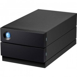 LaCie 2big Raid 16 TB Hard Disk esterno da 3,5 USB-C™ Nero STHJ16000800