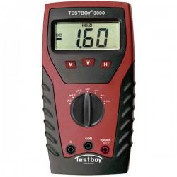Testboy TB-3000 Multimetro portatile digitale CAT IV 600 V Display (Counts): 2000