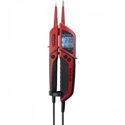 Testboy Profi III LCD Tester di tensione a due poli CAT IV 1000 V LCD, Acustico, Vibrazione