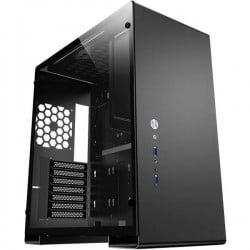 Jonsbo U5 BLACK Midi-Tower Contenitore, PC Case da gioco Nero