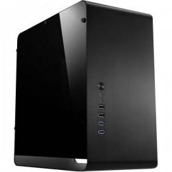 Jonsbo UMX3 BLACK Micro-Tower PC Case da gioco, Contenitore Nero