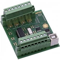 Modulo ingressi Deditec USB-OPTOIN-8_B USB Numero di ingressi digitali: 8