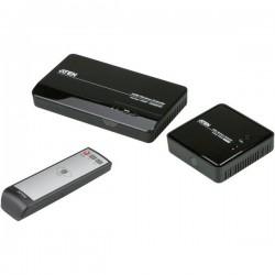Kit trasmissione segnali HDMI senza fili 30 m 5 GHz 1920 x 1080 Pixel ATEN VE809-AT-G con telecomando