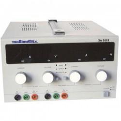 Multimetrix XA 3052 Alimentatore da laboratorio regolabile 0 - 30 V 0 mA - 5 A Num. uscite 2 x