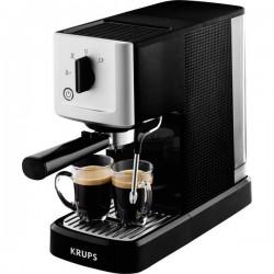 Krups Calvi XP3440 Macchina caffè a filtri Argento, Nero 1460 W Con ugello schiumalatte