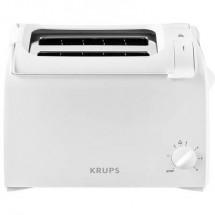 Krups KH1511 Tostapane Con griglia scaldabriosche integrata Bianco