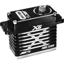 MKS Standard Servo HBL599 Servo digitale Materiale trasmissione: Metallo Sistema innesto: Spina JR