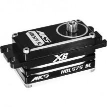Mks Standard Servo Hbl575Sl Servo Digitale Materiale Trasmissione: Metallo Sistema Innesto: Spina Jr