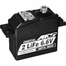 MKS Standard Servo DS1250 Servo digitale Materiale trasmissione: Metallo Sistema innesto: Spina JR