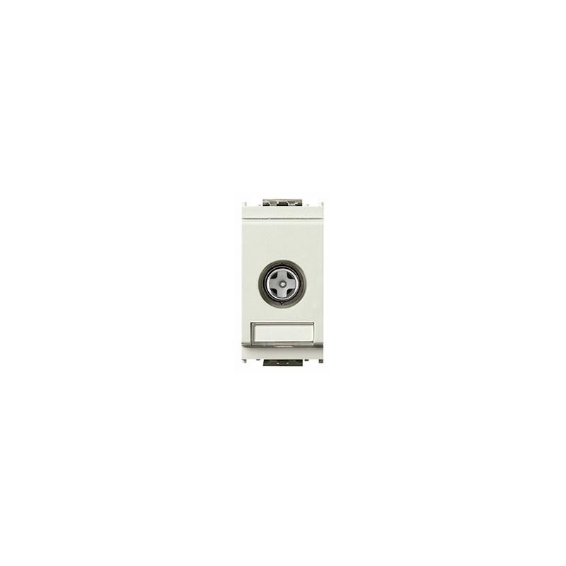 Presa coassiale TV-RD-SAT, 5-2400 MHz, diretta (derivata), con connettore maschio