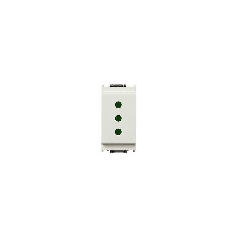 Presa SICURY 2P+T 10 A 250 V~ standard italiano tipo P11, bianco, prezzi e offerte online.