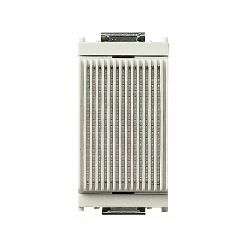 Ronzatore 230V 50-60Hz ,colore bianco, serie vimar idea, codice 16408.B.