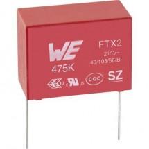 Würth Elektronik WCAP-FTX2 890324023021CS 1 pz. Condensatore antidisturbo X2 radiale 82 nF 275 V/AC 10 % 10 mm (L x L x
