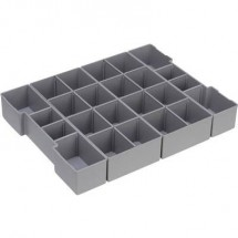 Inserto porta utensili 1 pezzo Sortimo L-BOXX K3 600.001.0098 (L x L x A) 312 x 130 x 63 mm