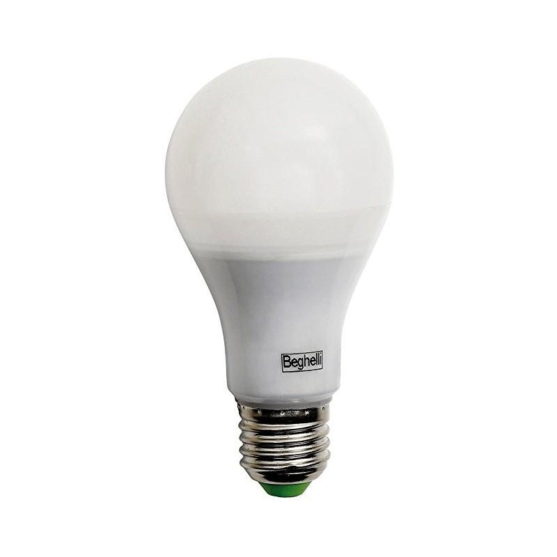 beghelli 56156 lampada led eco goccia 22w e27 luce calda