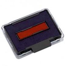 Trodat Cuscinetto per timbri manuali 6/50/2 20446 41 x 24 mm (L x A) Blu, Rosso 2 pz.