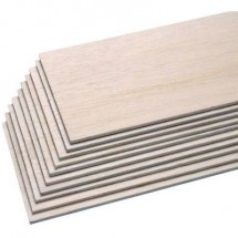 Tavoletta di balsa Pichler C6439 (L x L x A) 1000 x 100 x 1 mm 10 pz.