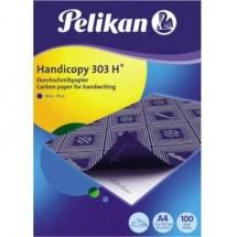 Pelikan Carta carbone autocopiante Handicopy 303 H 434894 DIN A4 Blu 100 Foglio