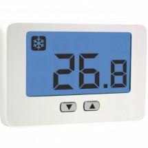 Termostato Ambiente da Parete a Batterie Thalos Key Bianco