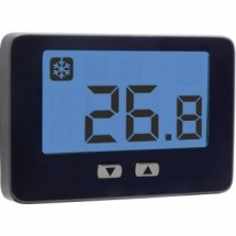 Termostato Ambiente da Parete a Corrente Elettrica 230V Thalos Key Bianco