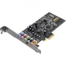 Scheda audio interna 5.1 Sound Blaster SoundBlaster Audigy FX PCIe x1 collegamento esterno per cuffie