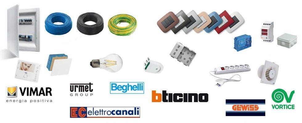 dove acquistare materiale elettrico online?