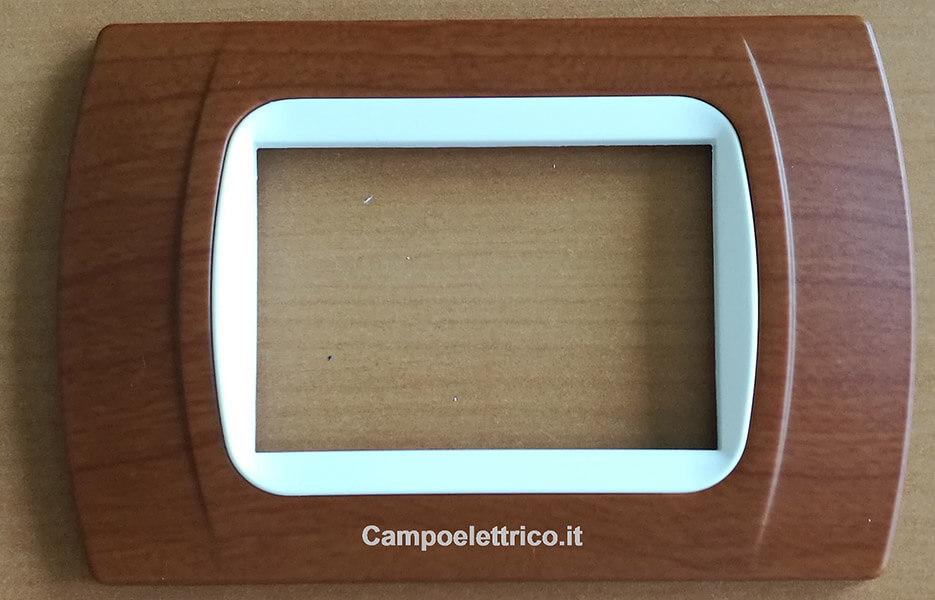 placchette compatibili con serie vimar plana eikon arkè 3 moduli