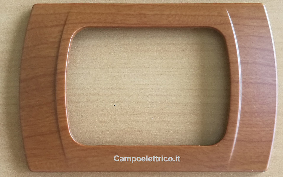 placchetta compatibile vimar eikon, arkè, plana 3 posti non originale