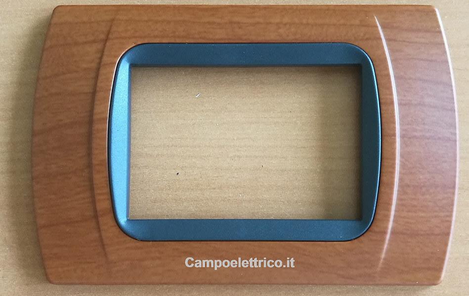 placchette non originali compatibili vimar eikon arkè plana, 3 posti,