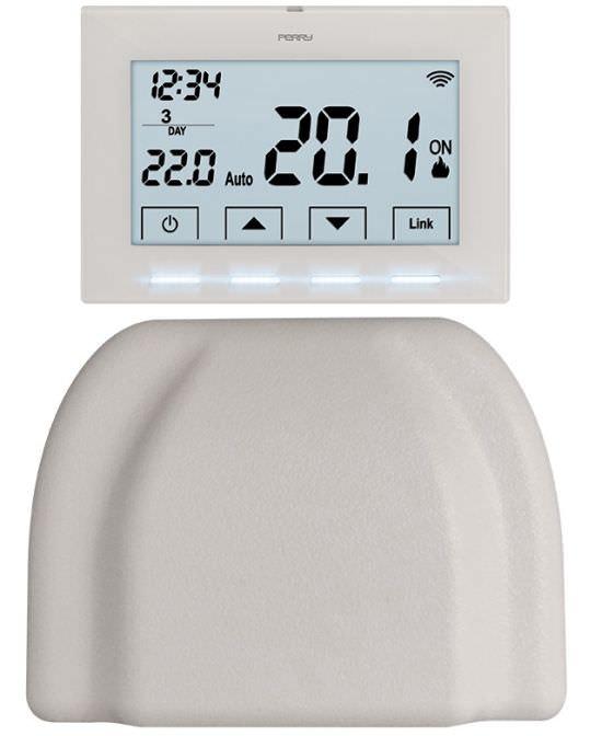 crono termostato wireless senza filo per programmare caldaia giorni e ore