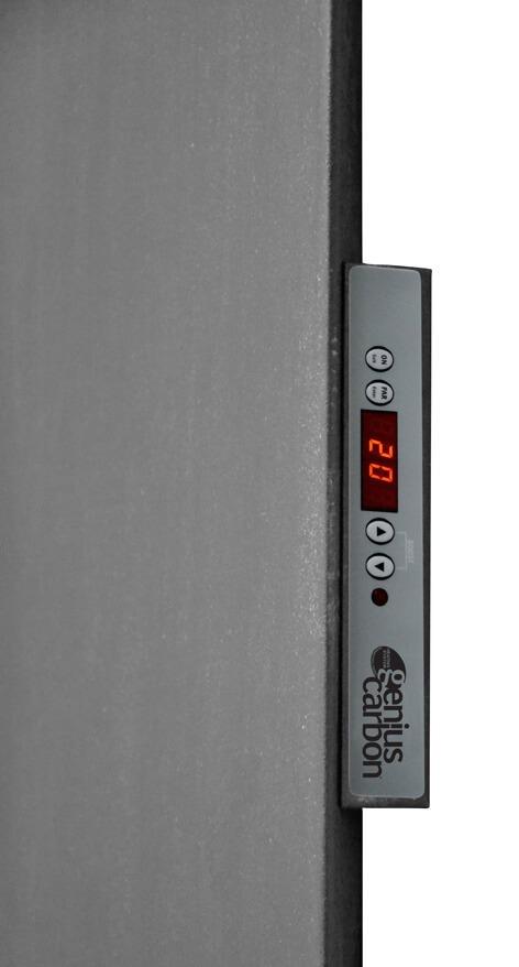termosifone con termostato e centralina da arredo