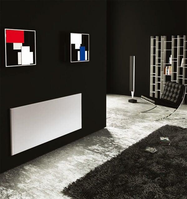 arredamento con termosifoni per abbellimento interni e design abitazione casa o ufficio