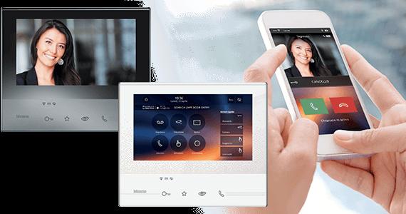 videocitofono wifi wireless senza filo e fili al miglior prezzo per la vendita online
