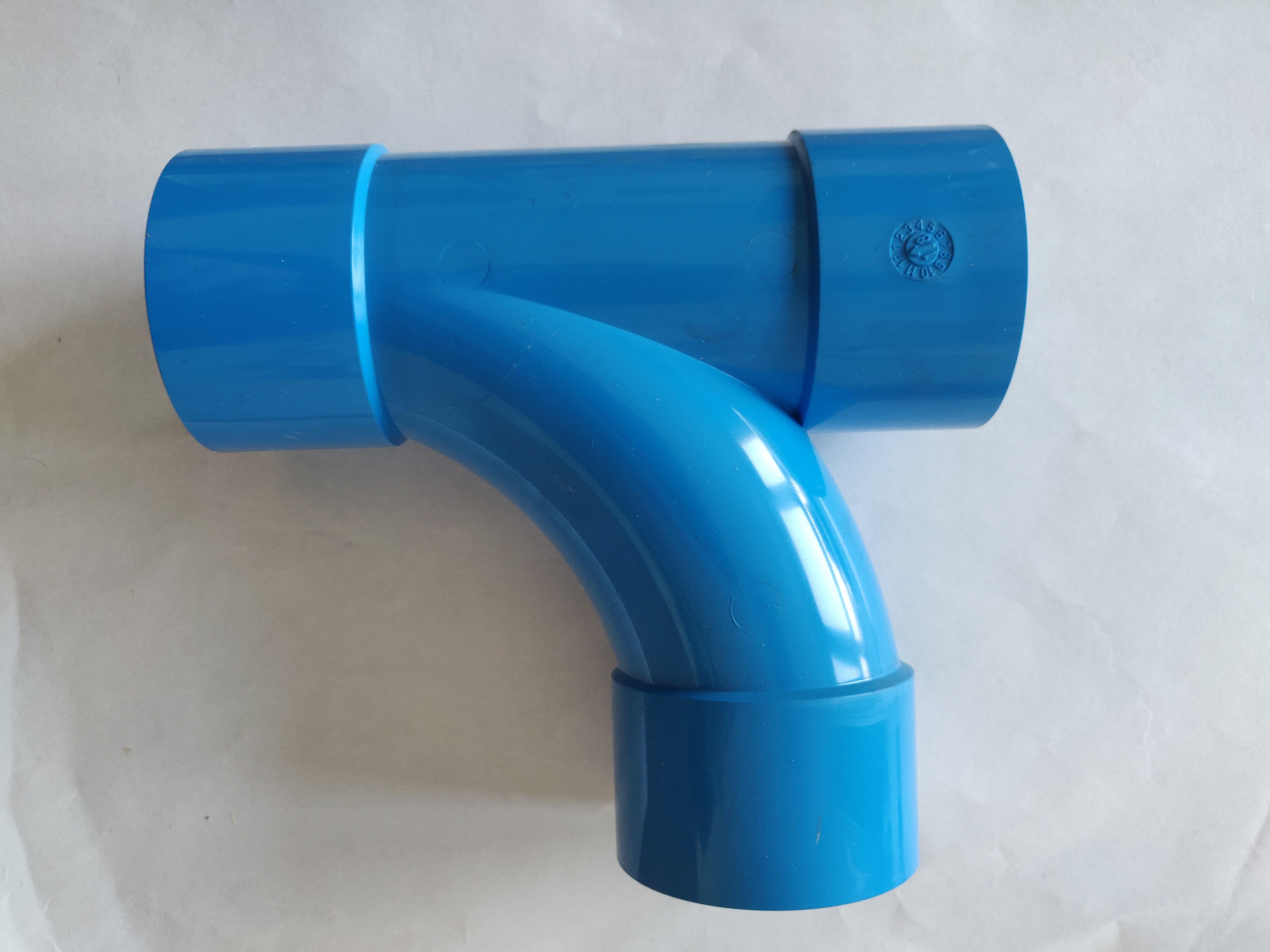 Aertecnica TR056 - Tubo di Derivazione Pvc 50mm D50 90° FF