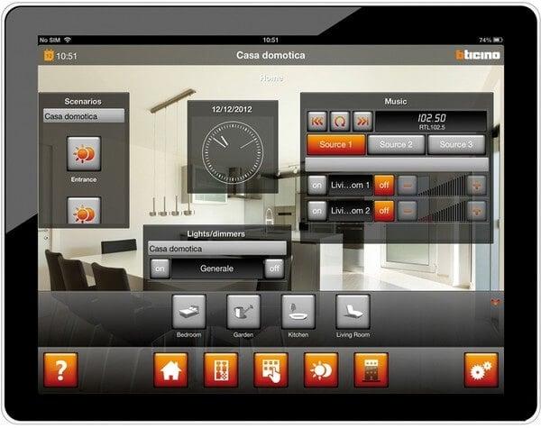 domotica bticino my-home, migliori prezzi e offerte online, listino 2017, impianto domotico, costo e prezzo vendita online